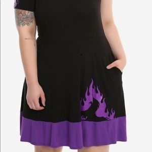 Hot topic maleficent dress